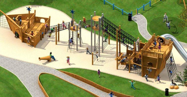 Saumarez Park Toddler Playground